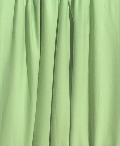 Vihreä luomupuuvillatrikoo, 1 metri