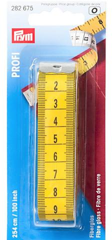 Profi erikoispitkä mittanauha, 254 cm / 100 tuumaa