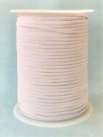 Kuminauha, 5 mm, valkoinen