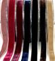 Joustava samettinauha, 16 mm, 7 väriä