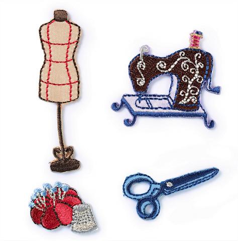 Ompelutarvikkeet-koristekuviot, Sewing Studio