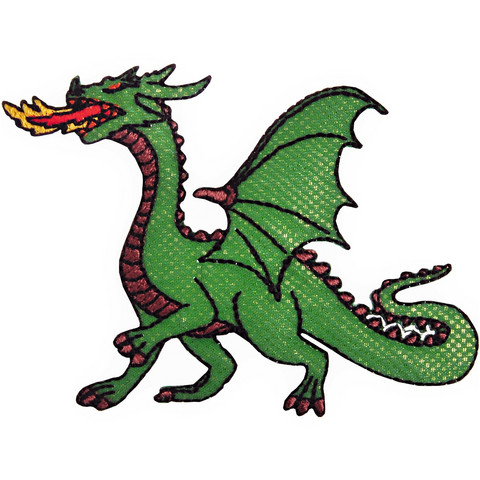 Lohikäärme-koristekuvio