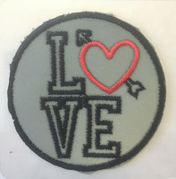 Heijastava love-merkki, 60 mm