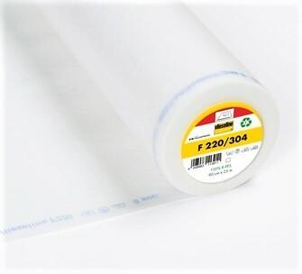 Vlieseline F220 tukikangas, valkoinen, silitettävä