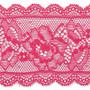 Pinkki joustava pitsi, 58 mm