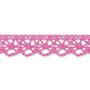 Pinkki puuvillapitsi, leveys 13 mm