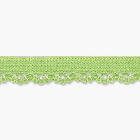 Vihreä joustava reunapitsi, 11 mm