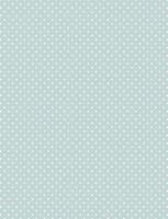 Vaaleansininen valkopilkullinen puuvillakangas