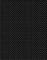 Musta valkopilkullinen puuvillakangas