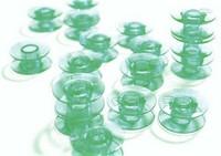 Husqvarna Viking vihreä muovipuola, 10 kpl, koneluokitus on 5, 6 tai 7
