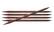 Sukkapuikot KnitPro Cubics, 20 cm, 4.0 mm