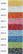 Metalliompelulanka Reflecta / Metalica, 100m, viisi väriä