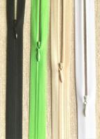 Piilovetoketju 55 cm, 5 väriä