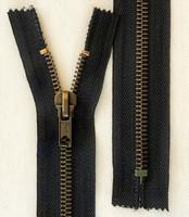 Metallivetoketju, musta, 25 cm