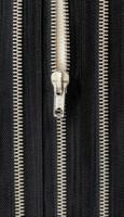 Metallivetoketju, musta, 45 cm