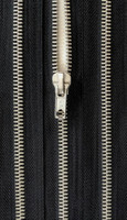 Metallivetoketju, musta 55 cm