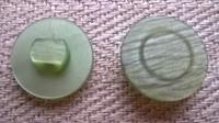 Vihreä kantanappi, 15 mm
