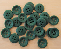 Vihreä nappi, 15 mm