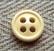 Vaaleankeltainen paidannappi pieni, 10 mm
