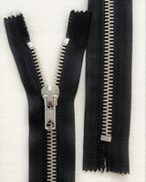 Metallivetoketju, musta, 60 cm