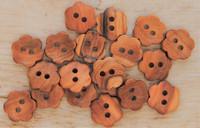 Pieni, puinen kukkanappi, 13 mm