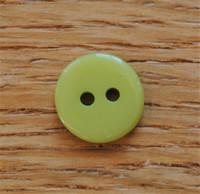 Limenvihreä nappi, 12mm