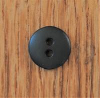 Pieni tummanvihreä nappi, 11 mm