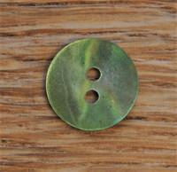 Vihreä helmiäisnappi, 13 mm
