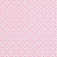 Vaaleanpunainen pienikuviollinen puuvillakangas