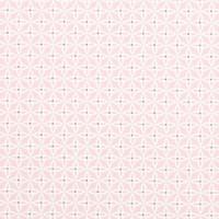 Vaalea roosa pienikuviollinen puuvillakangas
