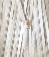 Hopeinen avovetoketju, 60 cm