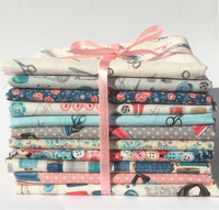Stitch in Time -sarjan Fat Quarter -nippu 11 kpl
