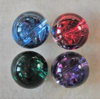 Jalokivinappi, 10 mm, neljä väriä