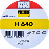 Tukivanu H640, silittämällä kiinnitettävä