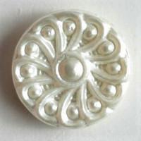 Koristeellinen kantanappi, 10 mm