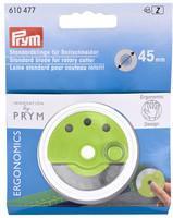 Vaihtoterä Prym ergonimiseen kangasleikkuriin, 45 mm