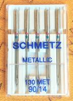 Metallineula, koko 90, 5 kpl