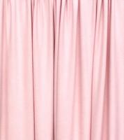 Vaalea roosa luomupuuvillatrikoo, 1 metri