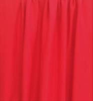 Punainen luomupuuvillaneulos, 1 metri