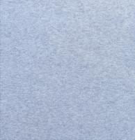 Vaaleahko meleerattu harmaa luomupuuvillatrikoo, 1 metri