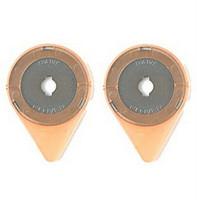 Varaterät Clover 28 mm kangasleikkuriin, 2 kpl