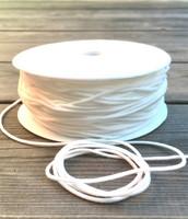 Pehmeä ja pyöreä kuminauha, halkaisja 2 mm