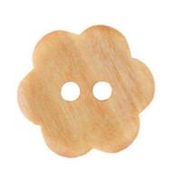 Puinen kukkanappi, 15 mm