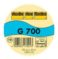 Vlieseline G700 kudottu tukikangas, valkoinen, silitettävä