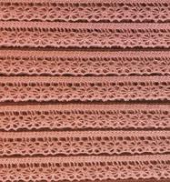 Vanha roosa puuvillapitsi, leveys 15 mm