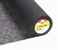 Vlieseline F220  tukikangas, tummanharmaa, silitettävä