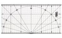 Olfa-leikkuuviivain 15 x 30 cm
