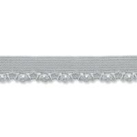 Harmaa joustava reunapitsi, 11 mm