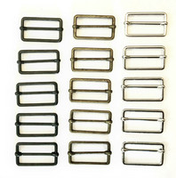 Metallinen t-solki, liukuva, 30 mm, kolme väriä