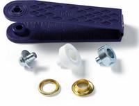 Metallirenkaat, 8mm, neljä väriä